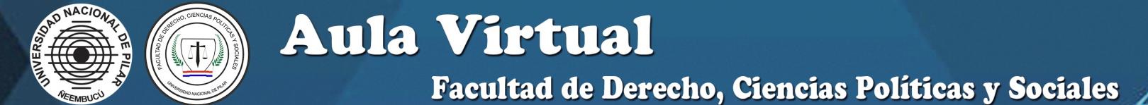 Aula Virtual MOODLE - FDCPyS